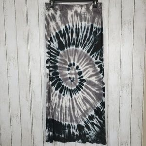 FEVER FLOWY DYED SKIRT.Size M